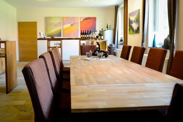 Der Probierraum in unsere Weingut im Wispertal in Lorch